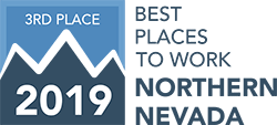 2019 Best Places to Work - 3rd Place