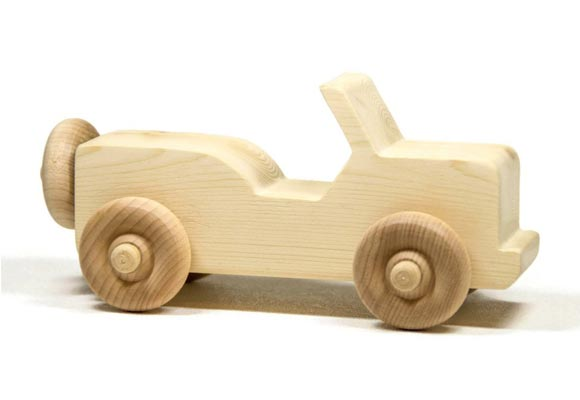 DIY Wooden Toy Cars