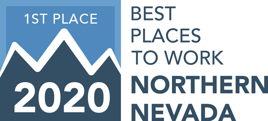2020 Best Places to Work - 1st Place