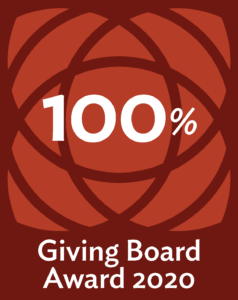 2020 100% Board Giving Award