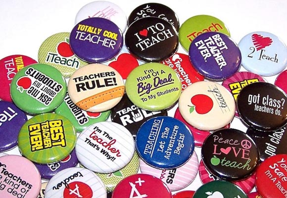 Teacher Appreciation Buttons