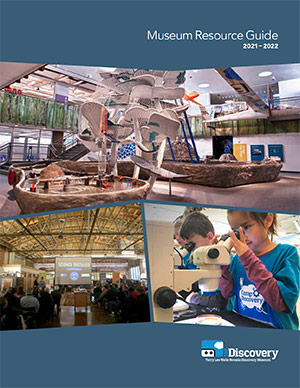 The Discovery's 2021-22 Museum Resource Guide