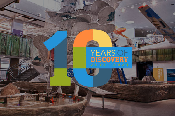 The Discovery 10th Anniversary Fundraiser