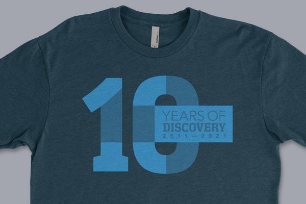 10th Anniversary Commemorative T-shirt